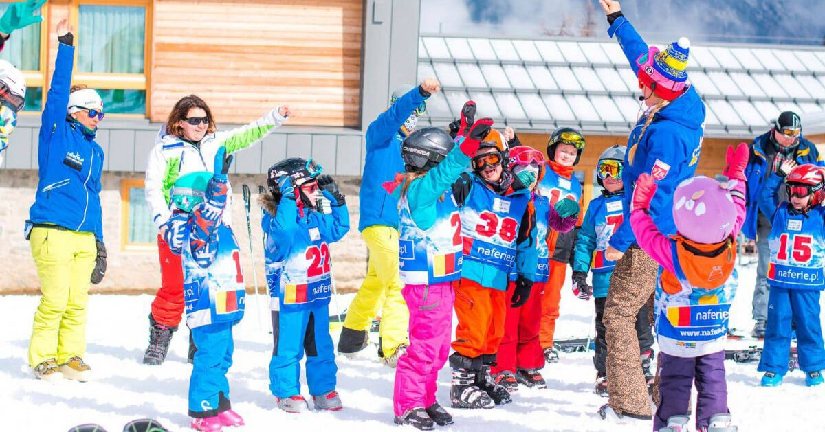 Przedszkole narciarskie dla dzieci